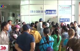 Bệnh viện Sản - Nhi Cà Mau quá tải vì dịch bệnh