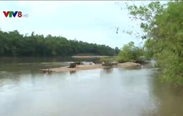 Bình Định: Khai thác cát gây sạt lở uy hiếp khu dân cư