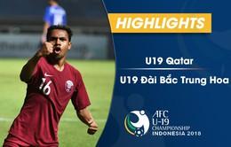 VIDEO Tổng hợp trận đấu: U19 Qatar 4-0 U19 Đài Bắc Trung Hoa (Bảng A VCK U19 châu Á 2018)