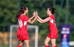 Vòng loại thứ nhất U19 nữ châu Á 2019 (bảng E): Jordan nhẹ nhàng lấy 3 điểm trước Singapore