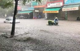 Mưa lớn gây ngập lụt tại Thanh Hóa