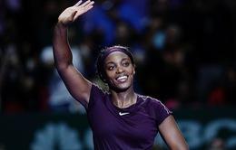 WTA Finals 2018: Sloane Stephens tiến gần hơn đến bán kết
