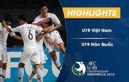 VIDEO: Tổng hợp diễn biến U19 Việt Nam 1-3 U19 Hàn Quốc (Bảng C VCK U19 châu Á 2018)