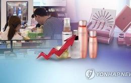 Xuất khẩu mỹ phẩm Hàn Quốc khởi sắc