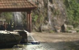 Quảng Nam: Thác nước Phước Xuân bị doanh nghiệp chặn dòng lấy nước...kinh doanh rửa xe