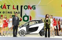 """Xế """"lạ"""" Toyota i Road hút khách tại VMS 2018"""