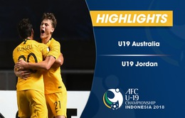 VIDEO: Tổng hợp diễn biến U19 Australia 1-1 U19 Jordan (Bảng C VCK U19 châu Á 2018)