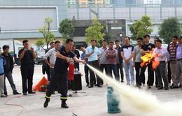 Chiều nay (26/10), Đài Truyền hình Việt Nam diễn tập phòng cháy chữa cháy