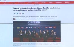 Thượng viện Canada thông qua CPTPP