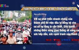 TP.HCM chi hơn 96.000 tỷ đồng giảm kẹt xe