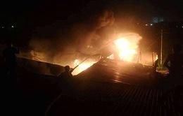 Nghệ An: 3 vụ cháy diễn ra liên tiếp trong đêm
