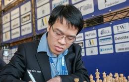 Lê Quang Liêm chưa đạt phong độ tốt tại giải cờ vua Isle of Man