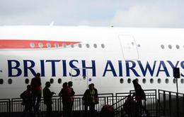 British Airways bị đánh cắp dữ liệu 185.000 thẻ thanh toán của hành khách