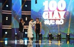 """Mặc Trấn Thành, Hari Won công khai cưa cẩm trai đẹp trên sân khấu """"100 giây rực rỡ"""""""