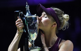Ngược dòng trước Sloane Stephens, Elina Svitolina lên ngôi tại WTA Finals 2018