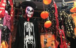 Phố Hàng Mã nhộn nhịp mùa lễ hội Halloween