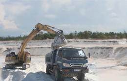 Quảng Nam: Khai thác cát gây nguy cơ mất mùa rau vụ Đông