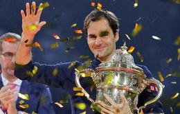 Vượt qua Marius Copil, Roger Federer lần thứ 9 đăng quang tại Basel mở rộng