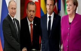 Nga, Pháp, Đức, Thổ Nhĩ Kỳ ra tuyên bố chung về Syria