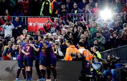 Kết quả bóng đá châu Âu sáng 29/10: Barcelona 5-1 Real Madrid, Man Utd 2-1 Everton, Marseille 0-2 PSG, AC Milan 3-2 Sampdoria