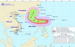 Bão Yutu cách đảo Luzon khoảng 320km về phía Đông