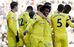 VIDEO: Burnley 0-4 Chelsea (Vòng 10 Giải Ngoại hạng Anh)
