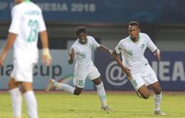 Kết quả U19 châu Á 2018, U19 Ả Rập Xê Út 3-1 U19 Australia: Chiến thắng thuyết phục!