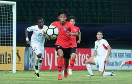 Lịch thi đấu và trực tiếp vòng tứ kết U19 châu Á 2018 ngày 29/10: U19 Hàn Quốc - U19 Tajikistan, U19 Ả Rập Xê Út - U19 Australia (VTV6 & VTV6HD)