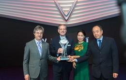 """VinFast được vinh danh """"Ngôi sao mới"""" tại Paris Motor Show 2018"""