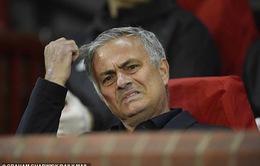 """Thống kê cho thấy HLV Mourinho đã chạm """"đáy"""" sự nghiệp"""