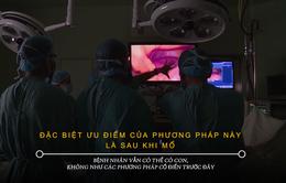 Huế: Lần đầu tiên phẫu thuật nội soi 3D thành công