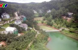 Giải tỏa công trình trái phép tại hồ Tuyền Lâm – Đà Lạt