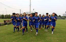 Đội tuyển U19 nữ QG tập trung chuẩn bị cho vòng loại U19 nữ châu Á 2019