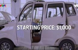 Xe điện mini giá 1.000 USD lên ngôi ở Trung Quốc