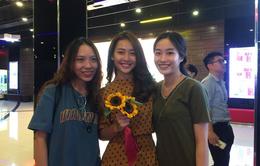 """LHP Quốc tế Hà Nội 2018: Khả Ngân nghẹn ngào khi xem lại phim """"100 ngày bên em"""""""