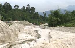 Kiểm tra các hồ chứa có nguy cơ vỡ đập bãi thải