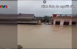 Xây đường mới gây ngập nhà dân