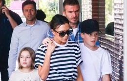 Gia đình Victoria Beckham tụ tập sau phát ngôn gây sốc của David Beckham