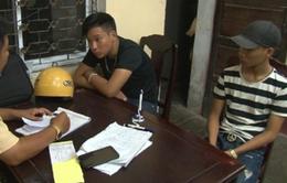 Bắt nhóm thanh niên Nẹt Pô gây mất trật tự trên địa bàn TP Huế
