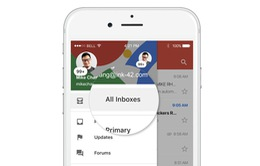 Gmail cập nhật tính năng xem thư đến trên nhiều tài khoản cùng lúc trên iOS
