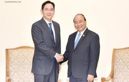 """Thủ tướng đề nghị Samsung hướng tới """"cứ điểm chiến lược lớn nhất toàn cầu tại Việt Nam"""""""