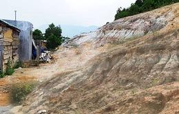 Người dân khu tái định cư Gò Hiu thấp thỏm lo âu vì sạt lở, thiếu nước sạch