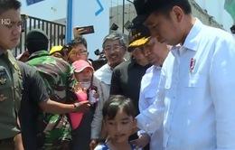 Tổng thống Indonesia thăm khu vực thảm họa động đất, sóng thần