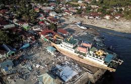 Hoạt động cứu trợ quốc tế diễn ra khẩn trương hướng về Indonesia