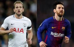 Cả Messi và Kane đều hài lòng với phong độ ghi bàn