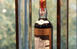 Người bí ẩn đến từ châu Á trả 1,1 triệu USD mua chai rượu whisky 60 năm tuổi
