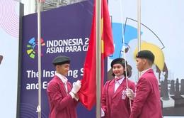 ASIAN Para Games 2018: Cảm xúc của các VĐV tại lễ thượng cờ Đoàn thể thao Việt Nam