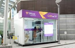 Livebank cho phép rút tiền bằng vân tay