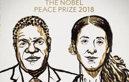 Nobel Hòa bình 2018 vinh danh phong trào phản đối bạo hành tình dục