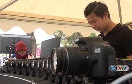 ASIAN Para Games 2018: Các VĐV người khuyết tật trải nghiệm chụp ảnh 360